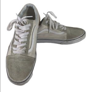 """VANS """"Off the Wall"""" White & Grey Cab Style"""